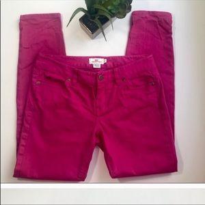 VINEYARD VINES Chic Pink Skinny Jeans - Size 2